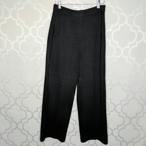 St John Collection Santana Knit  Wide Leg Pants
